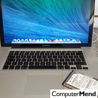 Apple MacBook Hard Drive Replaced for a Customer in Exeter